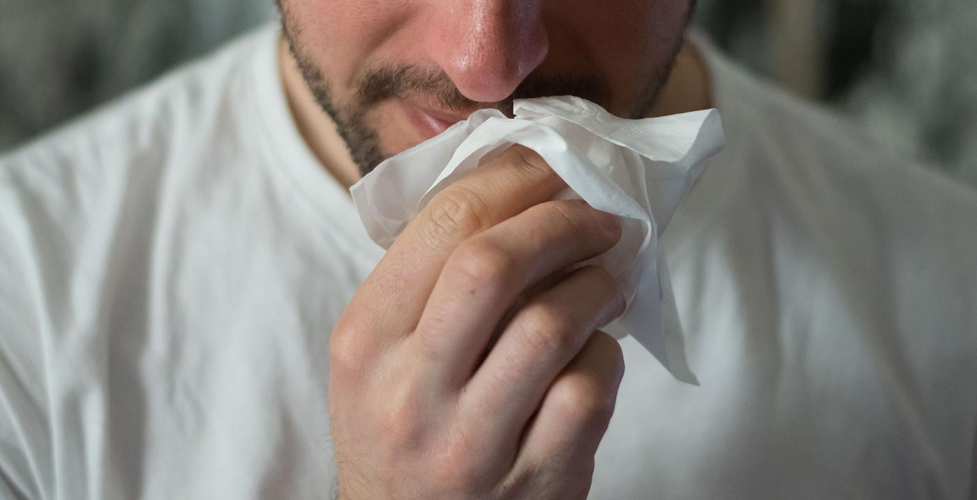 Flunssa Lihassärky